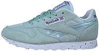 Женские кроссовки Reebok Classic (Рибок Классик, мятные)