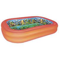 Бассейн надувной детский с 3D рисунком BESTWAY 51114