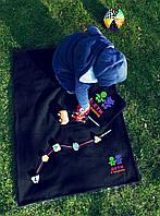 Плед флисовый 2в1, плед-подушка. Размер пледа: 150х100 см. Детский плед, оригинальный подарок. Разные цвета