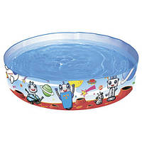 Бассейн наливной детский Космические роботы BESTWAY 55044