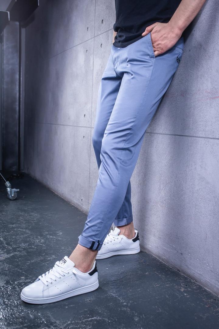 Мужские классические брюки beZet classic grey '18, мужские весенние брюки, серые мужские классические брюки