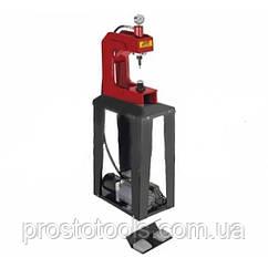Станок клепальный гидравлический для тормозных колодок в комплекте с насосом (размер заклепок 4-8 мм) JTC 5166