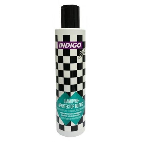 Шампунь Архитектор волос для восстановления и питания Indigo Style, 1000ml