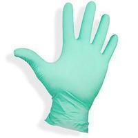 Перчатки нитриловые неопудренные нестерильные мятные (размер S) нестерильные (50 пар)