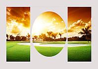Модульная картина с пейзажем комбинированная, фото 1