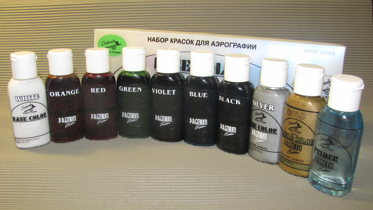 Набор Fishing Teckle Color Premium* Candy flake color* Solvent series