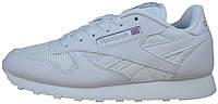 Женские кроссовки Reebok Classic White (рибок классик, белые)