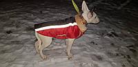 Попона  жилет с мехом для собак, фото 1