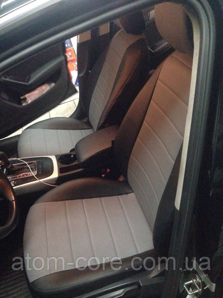 Чехлы на сиденья Шевроле Нива (Chevrolet Niva) ... - 2009 г (модельные, кожзам, отдельный подголовник)