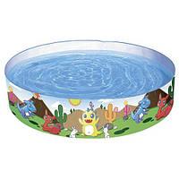 Бассейн наливной детский Динозаврики BESTWAY 55022