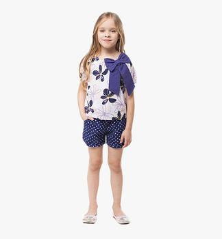 Костюмы с шортами и юбками для девочек