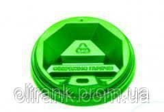 Крышка ТОППЛАСТ КР-79(зеленая) 50 шт/уп, (50 уп/ящ) (под 340ст )