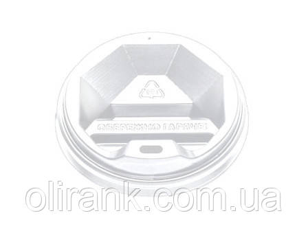 Крышка ТОППЛАСТ КР-69 (белая) 50 шт/уп  (60уп/ящ) (под 175 и 185 ripple)