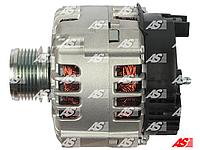Генератор на Nissan Qashqai 1.5 DCi, Ниссан Кашкай 1.5 дци,  A3118 (AS-PL) 125A-6 пазов