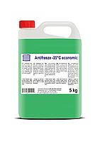 Антифриз економ 5 л (зелений)/Antifreeze fluid-35 C  economic 5 kg