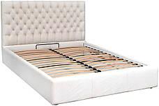 """Кровать Кембридж (с пуговицами) (комплектация """"VIP"""") с подъем.мех., фото 2"""