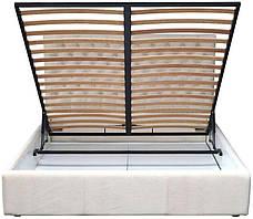"""Кровать Кембридж (с пуговицами) (комплектация """"VIP"""") с подъем.мех., фото 3"""