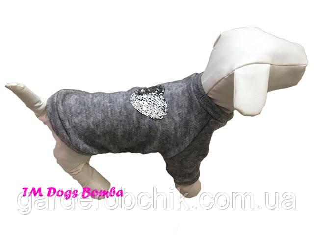 Толстовка, свитер для собаки, кошки Y-112. Одежда для животных