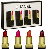 Набор помад Chanel (Шанель) 4 в 1