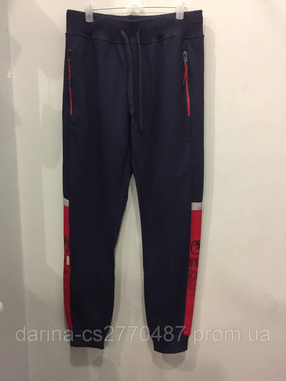 Спортивные трикотажные штаны для мальчика подростка 146 см