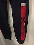 Спортивные трикотажные штаны для мальчика подростка 146 см, фото 3