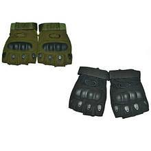 Перчатки тактические Oakley с кастетом олива