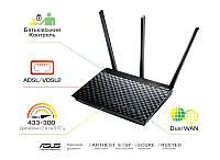 ADSL-роутер ASUS DSL-AC51 AC750 ADSL2+/VDSL2 AC750, 1xRJ11xDSL, 2xGE LAN/WAN (DSL-AC51)
