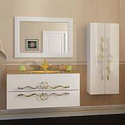"""Комплект мебели в ванную комнату """"Доминик"""" (тумба+зеркало+пенал)"""