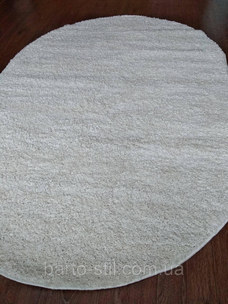 Ковёр Solo белый овал,1.60х2.20 м.