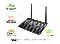 ADSL-роутер ASUS DSL-N16 ADSL2+/VDSL2 N300, 1xRJ11xDSL, 4xGE LAN, 1xGE WAN (DSL-N16)