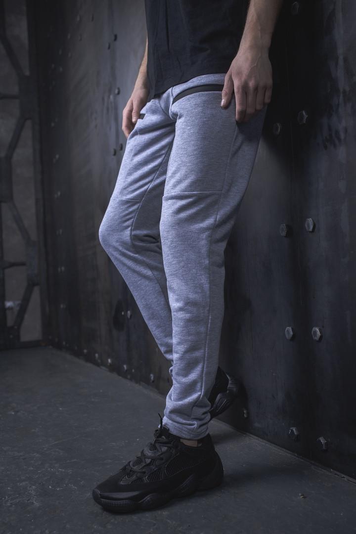 Мужские спортивные штаны BEZET Gun grey '19, серые спортивные штаны, спортивные штаны bezet