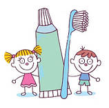 Гігієна ротової порожнини діткам