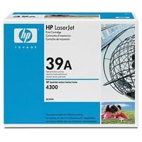 Картриджи HP LJ 4300 Q1339A б/у, пустой без тонера