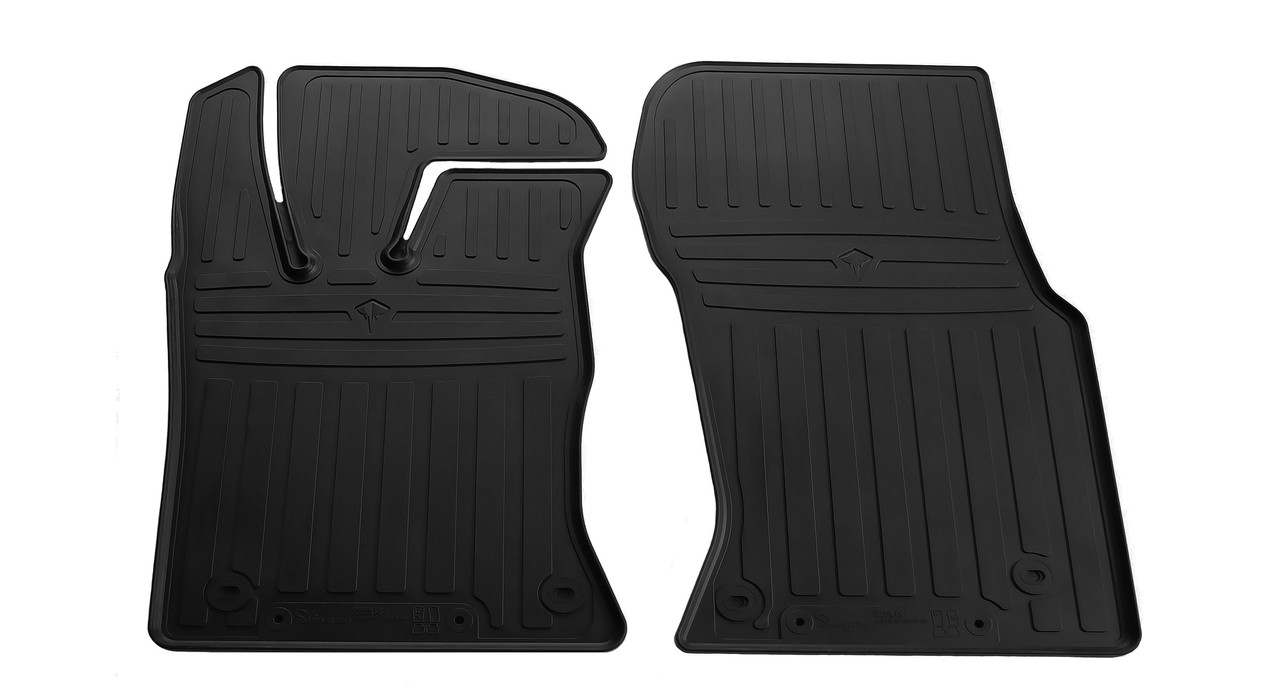 Коврики в салон резиновые передние для Jaguar XF 2015- Stingray (2шт)
