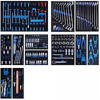 Набор инструментов для тележки 235 пр. (Ложементы) (EVA ложемент) KING TONY 934-235MRVD, фото 1