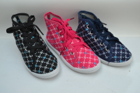 Кеды мокасины тапочки для девочки текстильные 32 раз.