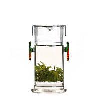 Стеклянная колба для заваривания чая Осенний лист, 200 мл