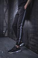 Мужские спортивные штаны BEZET Power with reflective '19, спортивные штаны с рефлективными лампасами, фото 1