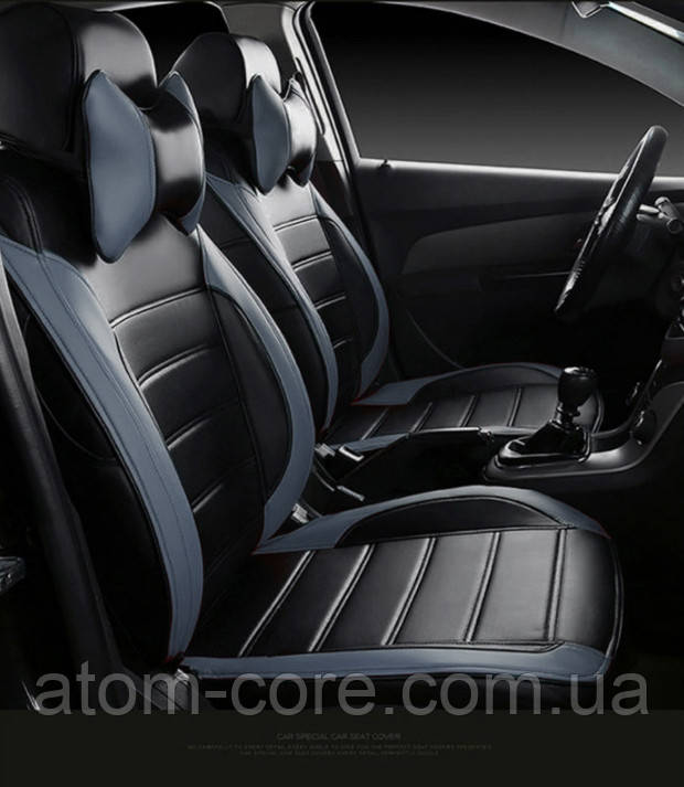 Чехлы на сиденья Форд Фиеста (Ford Fiesta) (модельные, НЕО Х, отдельный подголовник)