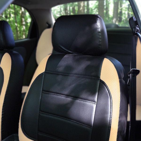 Чехлы на сиденья Форд Куга (Ford Kuga) (модельные, НЕО Х, отдельный подголовник)