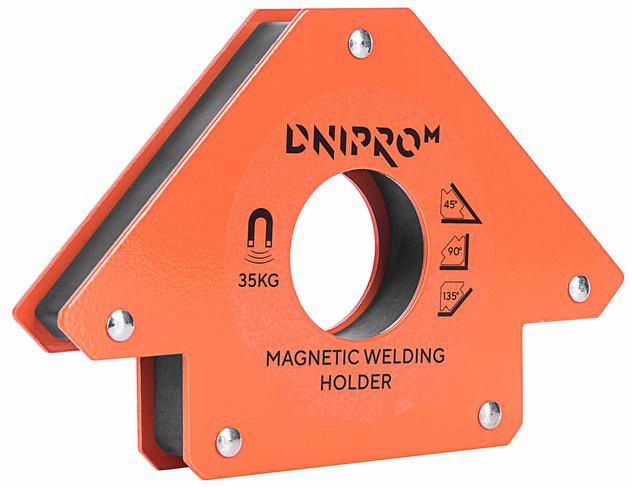 Магнитный угольник для сварки Dnipro-M MW-3413, цена 175 грн ...