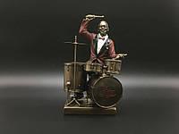 Статуэтка Veronese Барабанщик, серия Джазовые музыканты WS-873