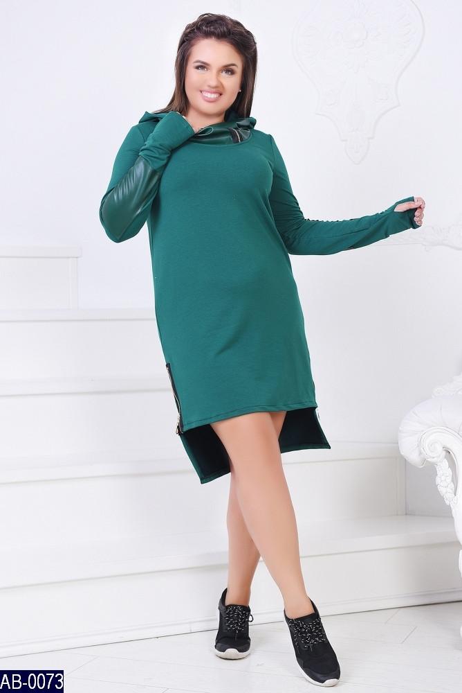 Стильное платье    (размеры 46-60)  0149-60