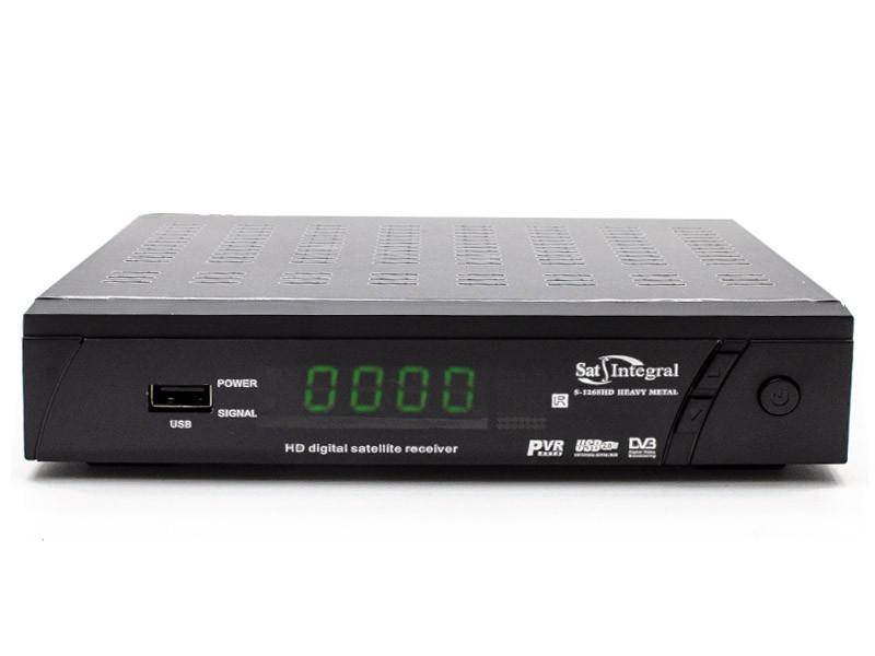 Ресивер Sat-Integral S-1268 HD HEAVY METAL
