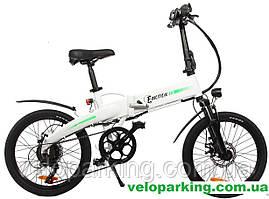 Электровелосипед алюминиевый складной  Crossover Ck-Motion 20 дюймов (350W/LG) 2019 All