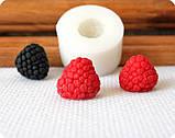 Силиконовый молд на копию натуральной ягоды малины., фото 2