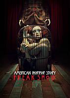 Картина GeekLand American Horror Story Американская История Ужасов Фрик-шоу 40х60 AH 09.005