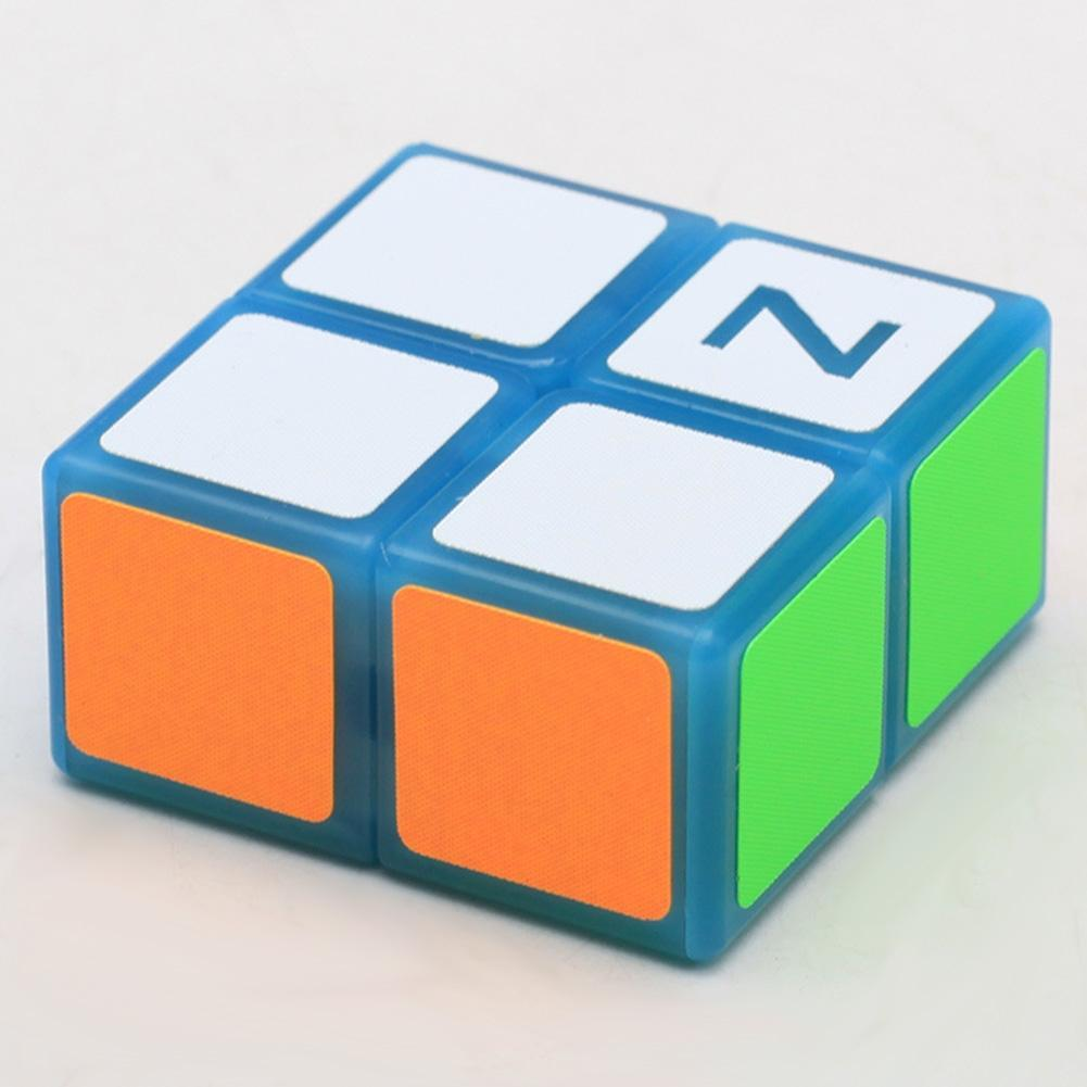Кубик головоломка Z-cube 2x2x1, голубий пластик