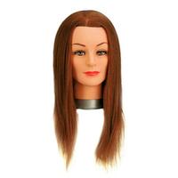 Голова(болванка) учебная шатен, для парикмахеров