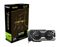 Видеокарта Palit GeForce GTX 1080 Super JetStream (NEB1080S15P2-1040J)  б.у. гарантия, фото 1